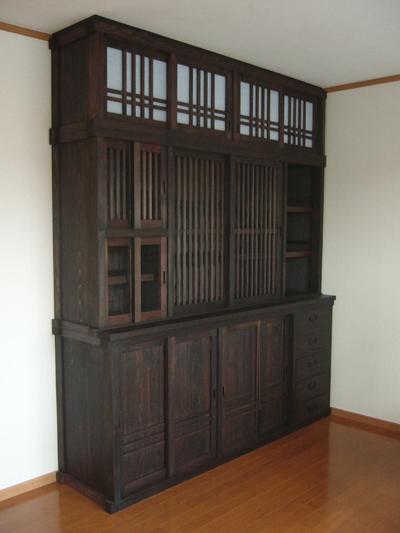 白竹家具工房|水屋箪笥