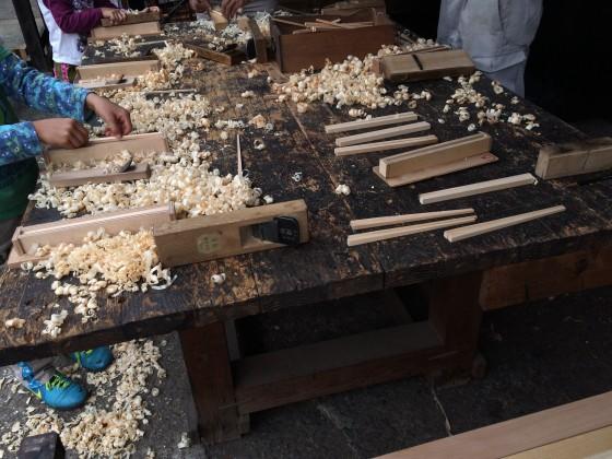 マイ箸作り