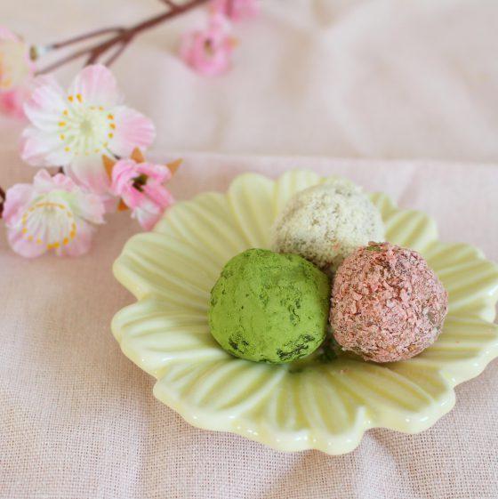 【満員御礼】みりんスイーツ「春の三色ビューティーボール」を作ろう!