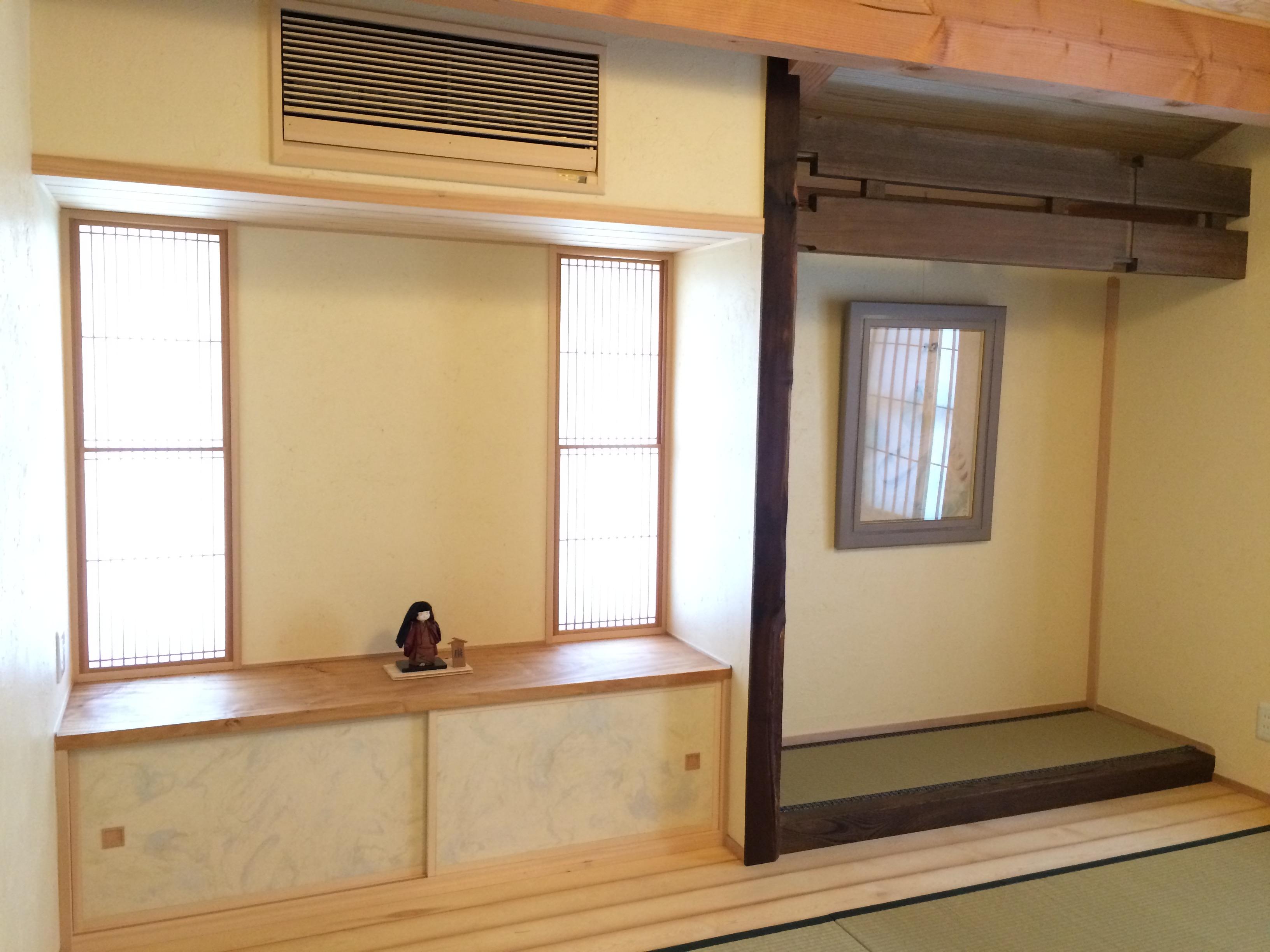 愛知県碧南市の古民家再生の建築会社おススメの古材利用の施工例