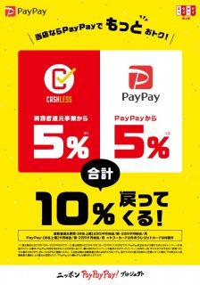 まちかどペイペイ第1弾キャンペーン始まってます。愛知県碧南市の建築リフォーム白竹木材は、消費者還元事業加盟店です。