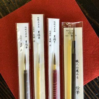 愛知県碧南市の古材家具ショップ 委託作家さんのご紹介「豊橋筆 筆屋伊藤さん」